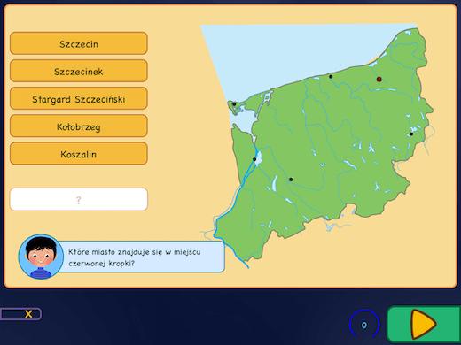 Topografia Polski - największe miasta
